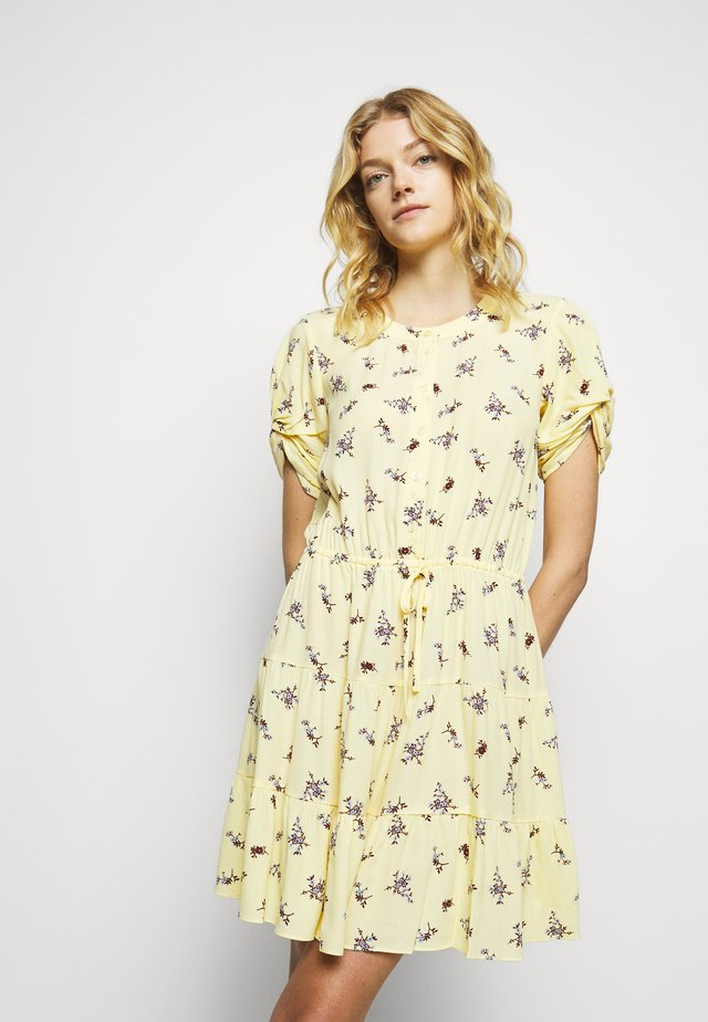 ASTON DRESS - Robe d'été - yellow/multi