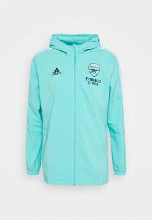 ARSENAL PRE JKT FOOTBALL FC AEROREADY TRACKSUIT JACKET - Club wear - acid mint