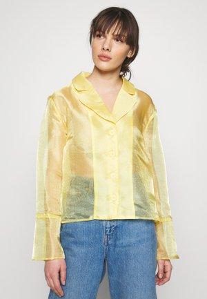 JASMINE - Košile - yellow