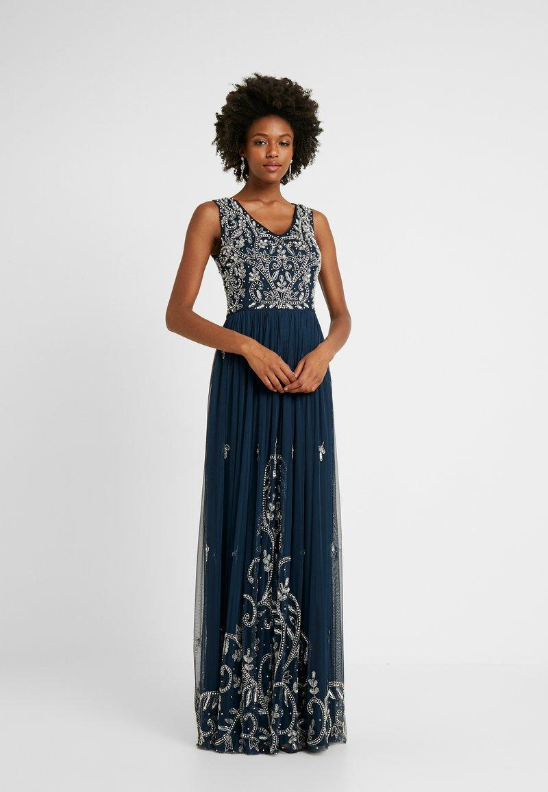 Lace & Beads Tall - SHANTI MAXI - Společenské šaty - navy