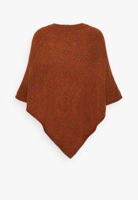 JDY - JDYELANOR PONCHO  - Cape - brown melange - 1