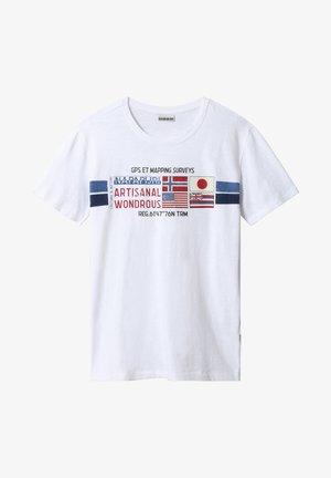 SILEA - T-shirt print - bright white