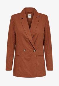ONLY - Short coat - ginger bread - 3