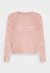 ONLY Petite - ONLVANESSA L/S PULLOVER CC PETIT KN - Maglione - misty rose/melange - 3
