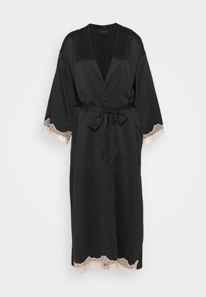 MAXI ROBE - Dressing gown - black