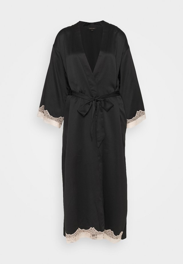MAXI ROBE - Morgonrock - black