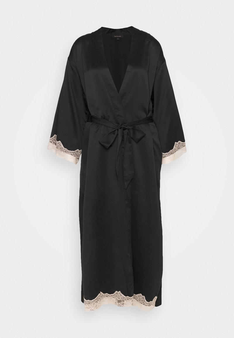 Ann Summers - MAXI ROBE - Dressing gown - black