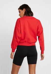 Karl Kani - SIGNATURE CREW - Sweatshirt - red/white/black - 2