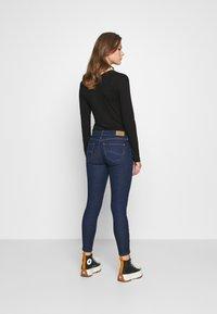 Lee - SCARLETT CROPPED - Jeans Skinny Fit - dark clement - 2