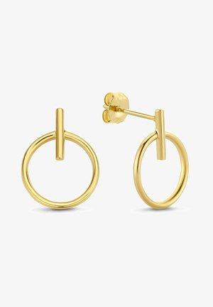 14 KARAT GOLD  - Earrings - gold