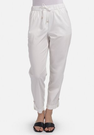 Trousers - milchig