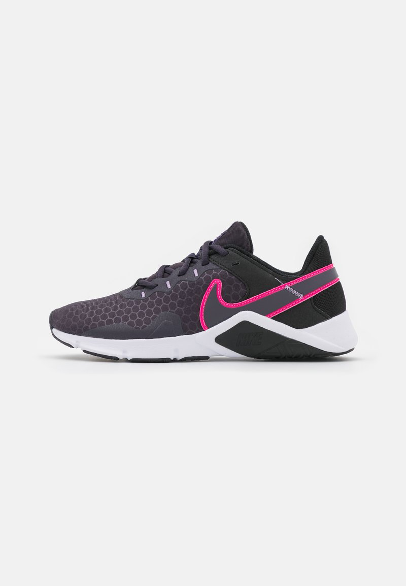 Nike Performance - LEGEND ESSENTIAL 2 - Sports shoes - black/hyper pink/cave purple/lilac/white