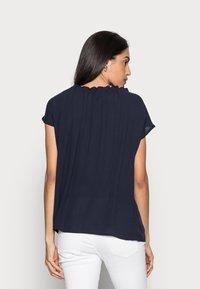 Esprit - BLOUSE - Print T-shirt - navy - 2