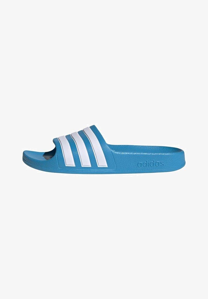 adidas Performance - ADILETTE AQUA SWIM - Pool slides - blue