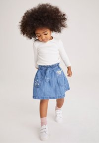 Next - Denim skirt - light-blue denim - 1