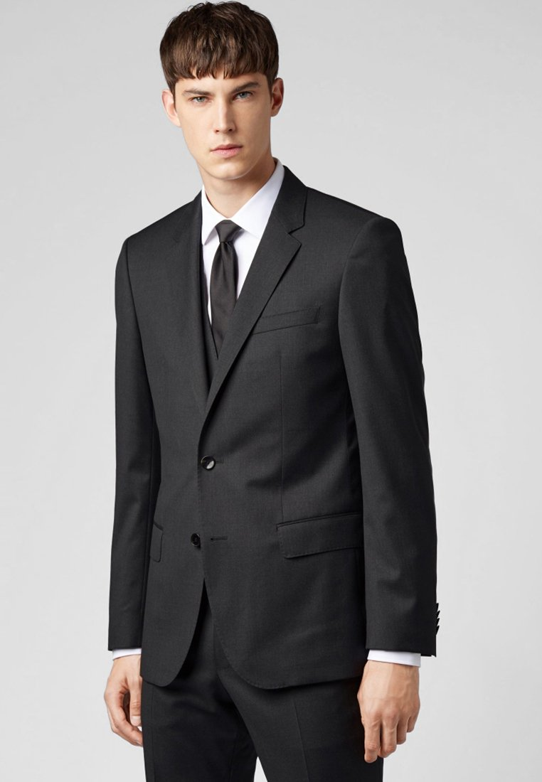 BOSS - HAYES - Suit jacket - dark grey