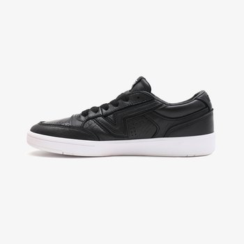 UA LOWLAND CC - Trainers - (leather) black/true whit