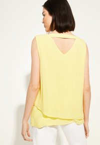 comma casual identity - Blouse - yellow - 1