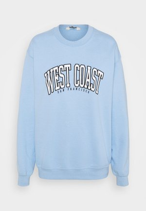 WEST COAST - Mikina - pale blue