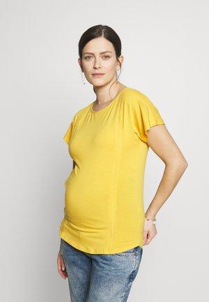 DERVLA  - Jednoduché triko - marigold