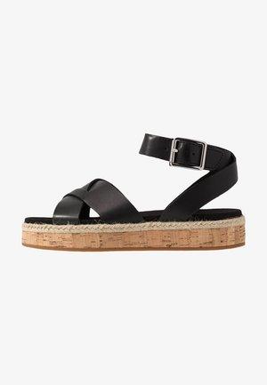 BOTANIC POPPY - Loafers - black