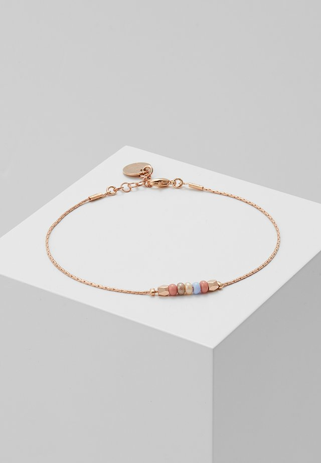 Bracelet - rosegold-coloured/pastel
