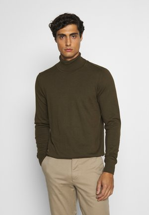 BURNS - Strickpullover - army