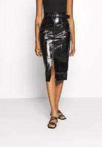 Fashion Union - TOFFIN - Pencil skirt - Black - 0