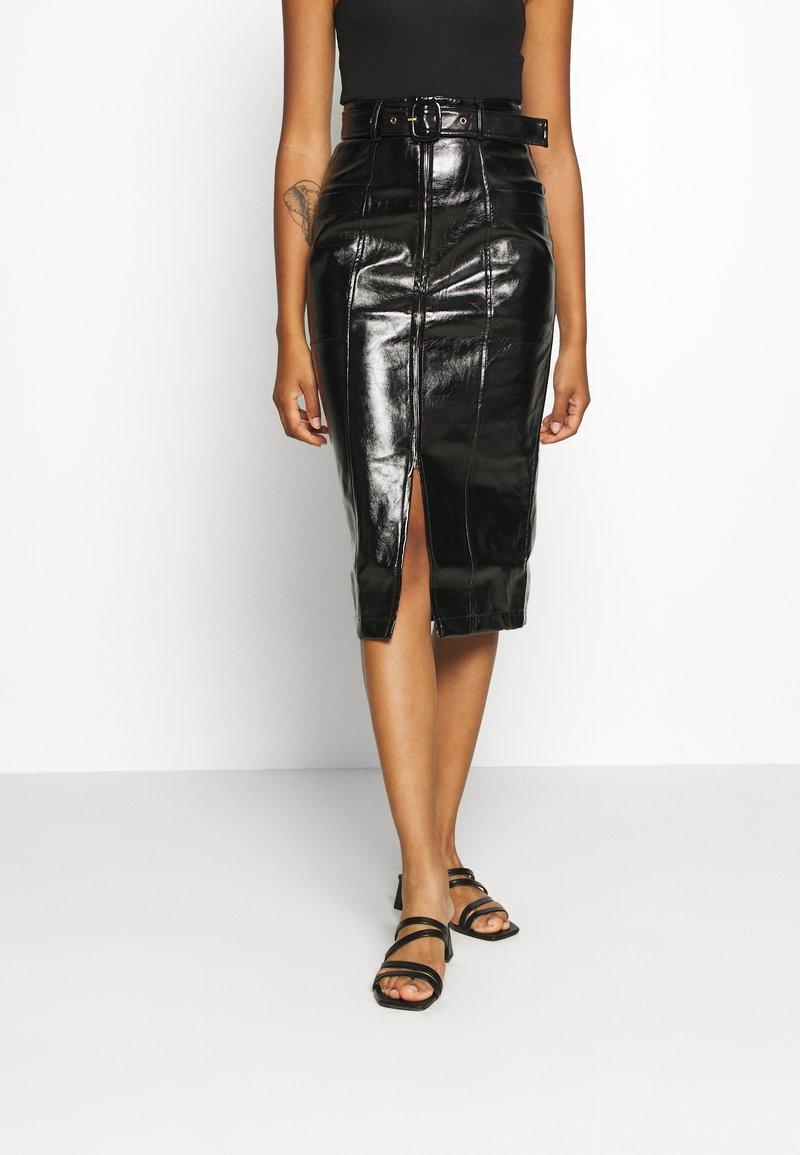 Fashion Union - TOFFIN - Pencil skirt - Black