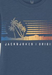 Jack & Jones Junior - JORLAGUNA  - Print T-shirt - ensign blue - 2