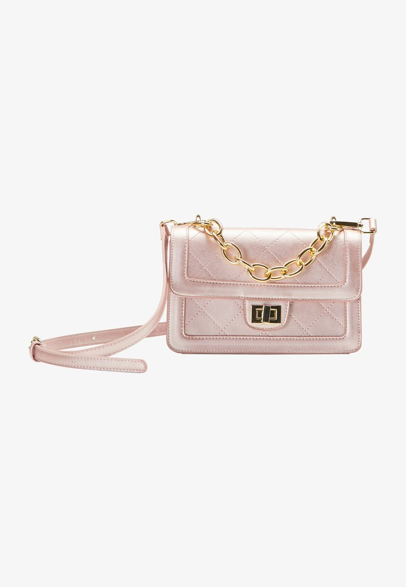 myMo at night - Across body bag - rosa metallic