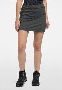 Haglöfs - LITE SKORT - Sports skirt - magnetite - 0