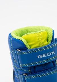 Geox - FLEXYPER BOY ABX - Winter boots - royal/navy - 5