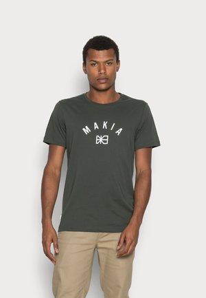 BRAND  - T-shirt print - dark green