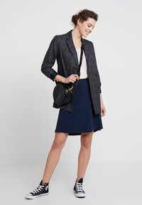 Freequent - A-line skirt - navy - 1