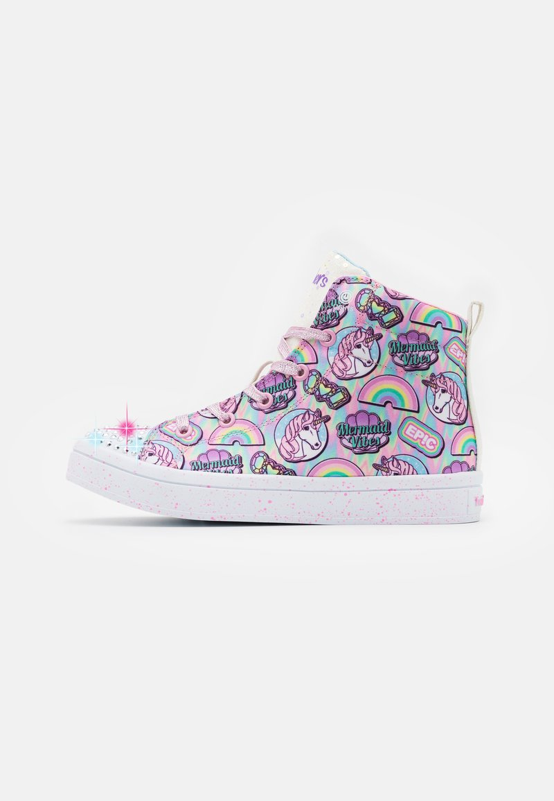 Skechers - TWI-LITES - High-top trainers - pink/multicolor