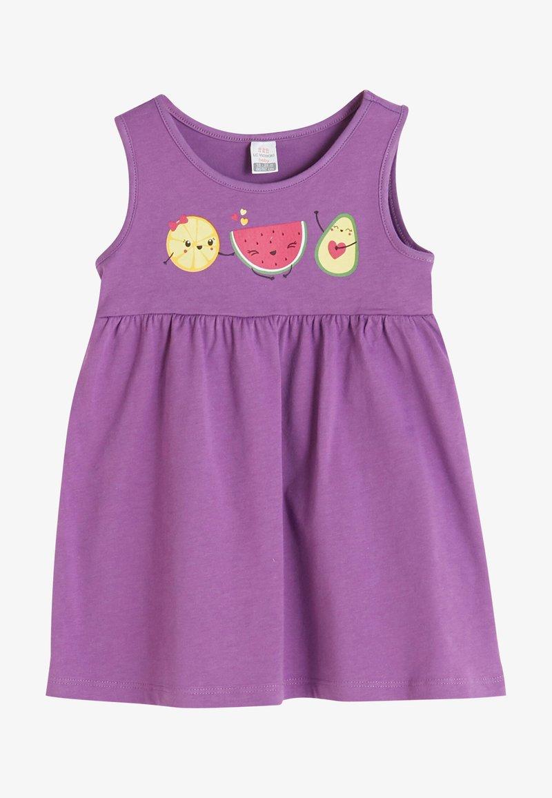 LC Waikiki - Jersey dress - purple