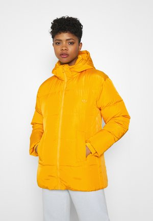 WINTER REGULAR JACKET - Gewatteerde jas - active gold