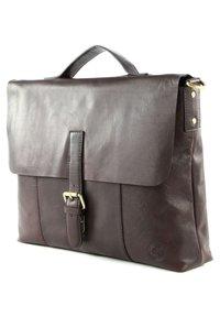 Saddler - ÅLESUND - Laptop bag - dark brown - 2