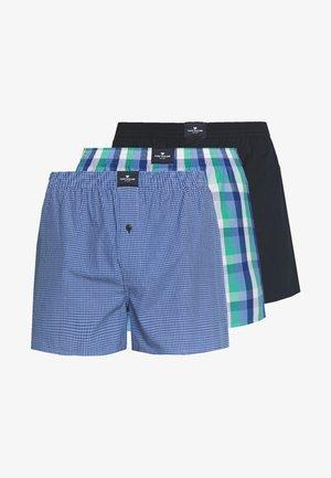 3 PACK - Boxer shorts - dark blue/blue/green