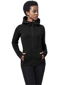 Urban Classics - Zip-up hoodie - black - 0