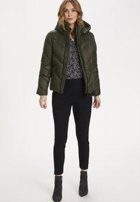 Saint Tropez - CATJASZ - Winter jacket - army green - 1