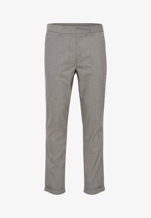 Trousers - silver mink melange
