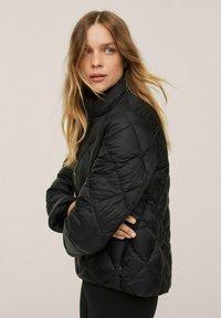Mango - PIUMINO ROMBI - Winter jacket - nero - 3