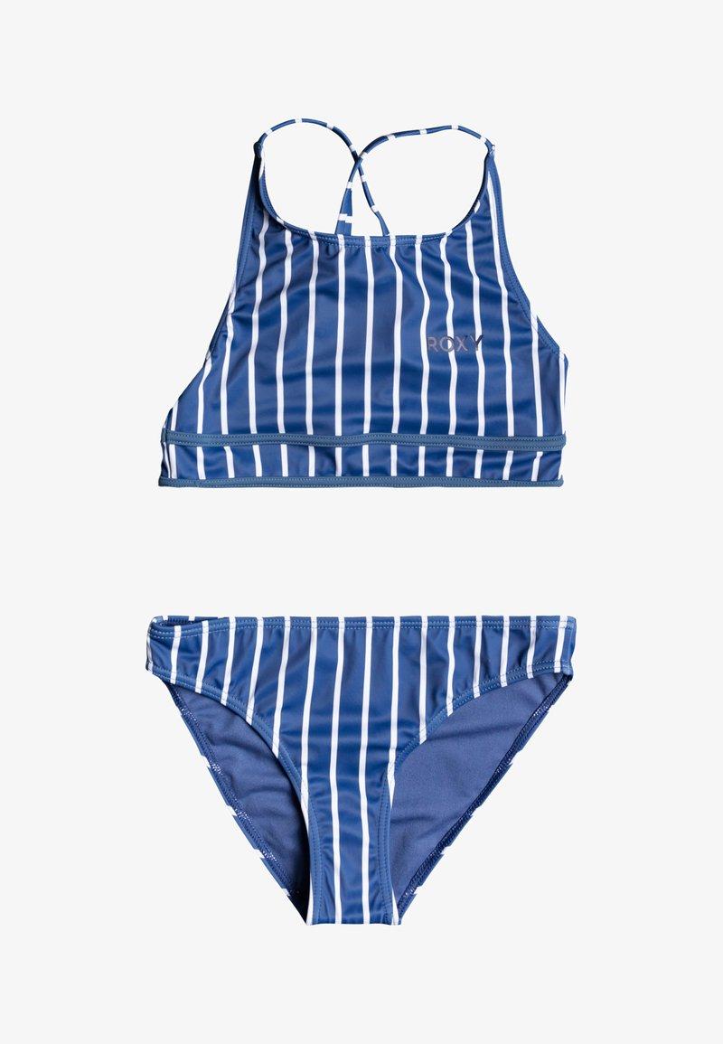 Roxy - PERFECT SURF TIME SET - Bikini - moonlight blue kuta stripes
