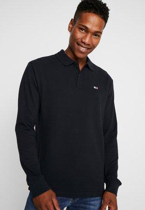 CLASSICS LONGSLEEVE - Polo shirt - black