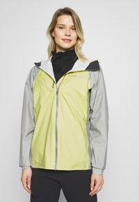 Norrøna - BITIHORN DRI1 JACKET - Hardshell jacket - sunny lime - 0