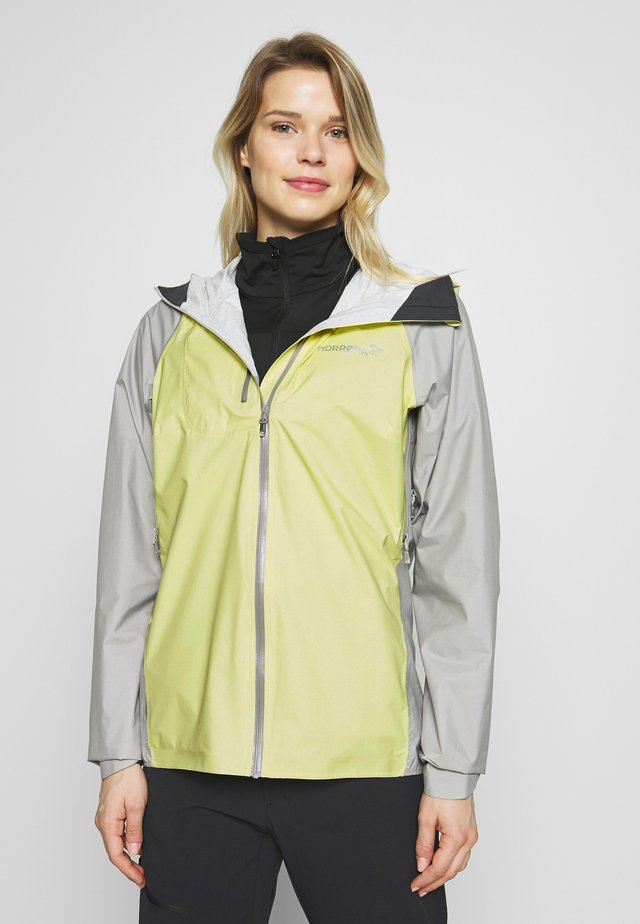 BITIHORN JACKET - Outdoorjas - sunny lime