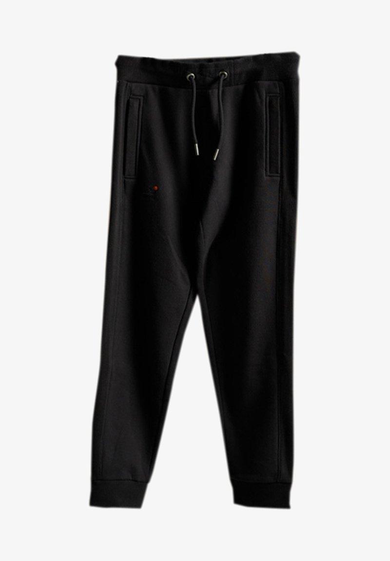 Superdry - Tracksuit bottoms - black