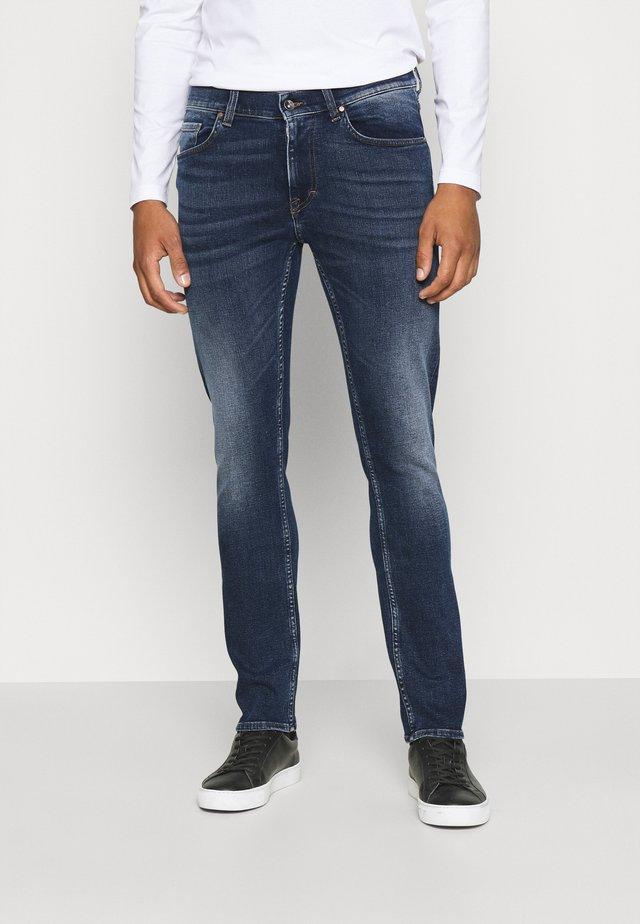 LEON - Straight leg jeans - royal blue